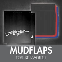 Mudflaps for Kenworth