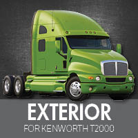 Exterior Parts for Kenworth T2000