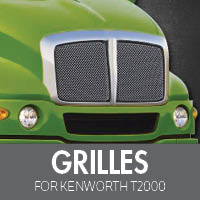 Grilles for Kenworth T2000
