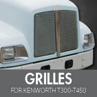 Grilles for Kenworth T300-T450