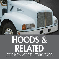 Hoods & Related for Kenworth T300-T450