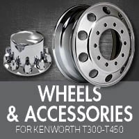 Wheels & Tires for Kenworth T300-T450