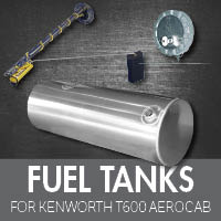 Kenworth T600 Aerocab Fuel Tanks