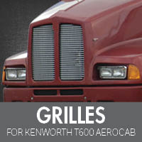 Grilles for Kenworth T600 Aerocab