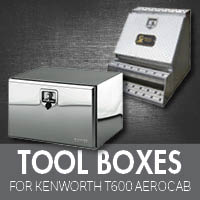 Toolboxes for Kenworth T600 Aerocab