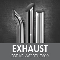 Exhaust for Kenworth T600