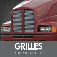 Grilles for Kenworth T600