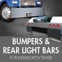 Kenworth T600B Bumpers