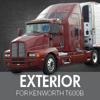 Exterior Parts for Kenworth T600B