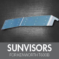 Sun Visors for Kenworth T600B