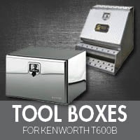 Toolboxes for Kenworth T600B