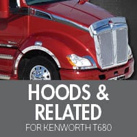 Hoods & Related for Kenworth T680