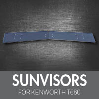 Sun Visors for Kenworth T680