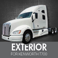 Exterior Parts for Kenworth T700