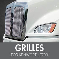 Grilles for Kenworth T700