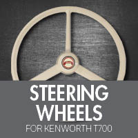 Steering Wheels for Kenworth T700
