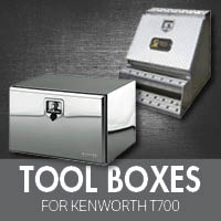 Toolboxes for Kenworth T700