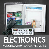 Electronics for Kenworth T800 Curved Glass