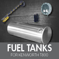 Fuel Tanks for Kenworth T800