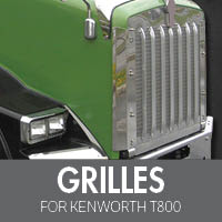 Grilles for Kenworth T800