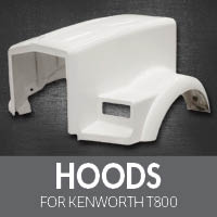 Hoods for Kenworth T800