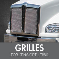 Grilles for Kenworth T880