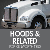 Hoods & Related for Kenworth T880