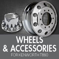 Wheels & Tires for Kenworth T880