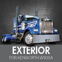 Exterior Parts for Kenworth W900A