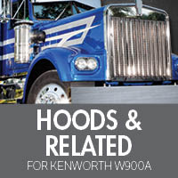 Hoods & Related for Kenworth W900A