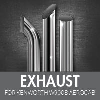 Exhaust for Kenworth W900B Aerocab