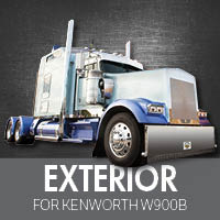 Exterior Parts for Kenworth W900B