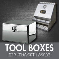 Toolboxes for Kenworth W900B