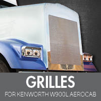 Grilles for Kenworth W900L Aerocab