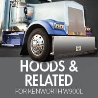 Kenworth W900L Hoods & Related