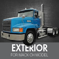Exterior Parts for Mack CH Model