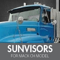 Sun Visors for Mack CH Model