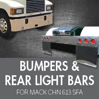 Bumpers for Mack CHN 613 SFA