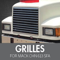 Grilles for Mack CHN 613 SFA