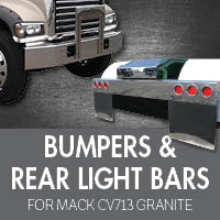 Bumpers for Mack CV713 Granite