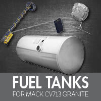 Mack CV713 Granite Fuel Tanks