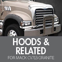 Hoods & Related for Mack CV713 Granite