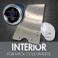 Mack CV713 Granite Interior Accessories