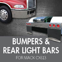 Bumpers for Mack CX613