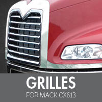 Grilles for Mack CX613