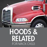 Hoods & Related for Mack CX613