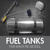 Mack RD Model Fuel Tanks
