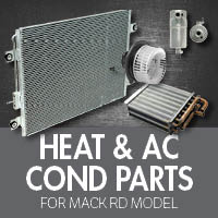 Heat & Air Conditioner Parts for Mack RD Model