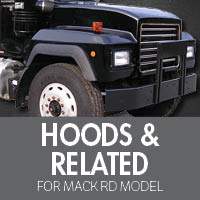 Hoods & Related for Mack RD Model