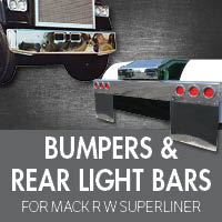 Bumpers for Mack RW Superliner